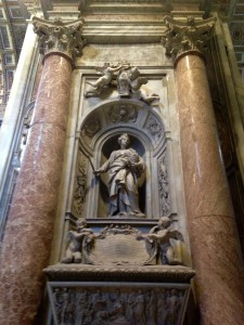 Matilda's tomb in Rome